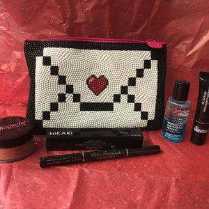 Love Letter ipsy Bag w/ mixed beauty products